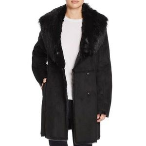 Marc New York by Andrew Marc Midi Faux Fur Coat